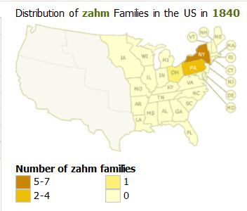 ZAHM in der USA